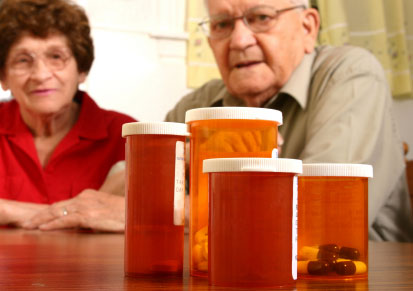 Carative can visit your loved on at home and assist with weekly prescription medications.